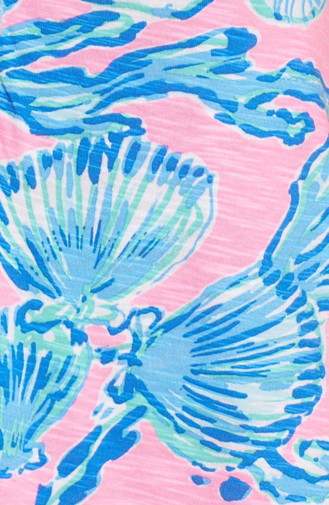 Alternate Image 6  - Lilly Pulitzer® 'Essie' Print Cotton & Modal A-Line Dress