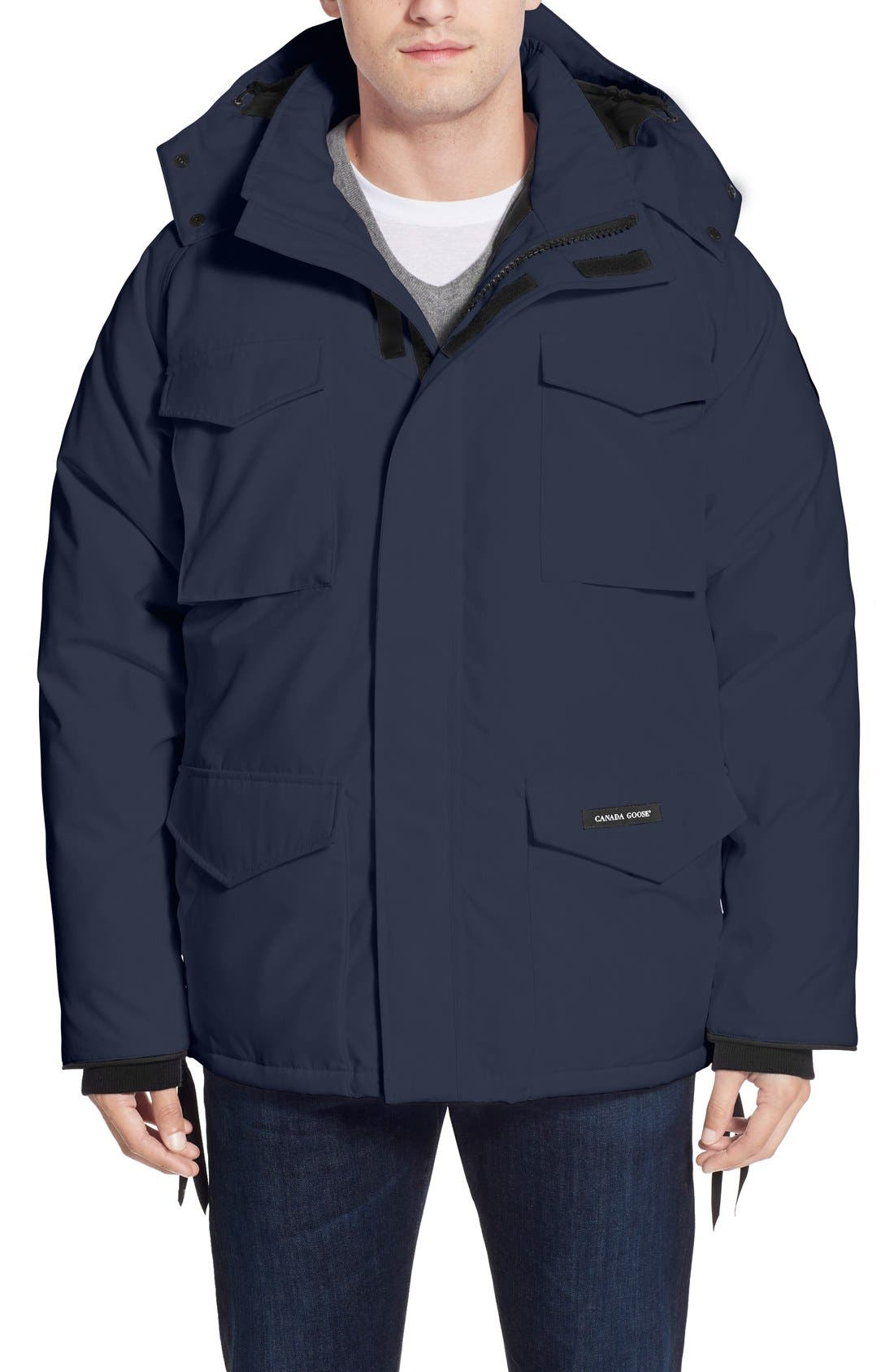 Alternate Image 1 Selected - Canada Goose 'Constable' Regular Fit Water Resistant Down Parka