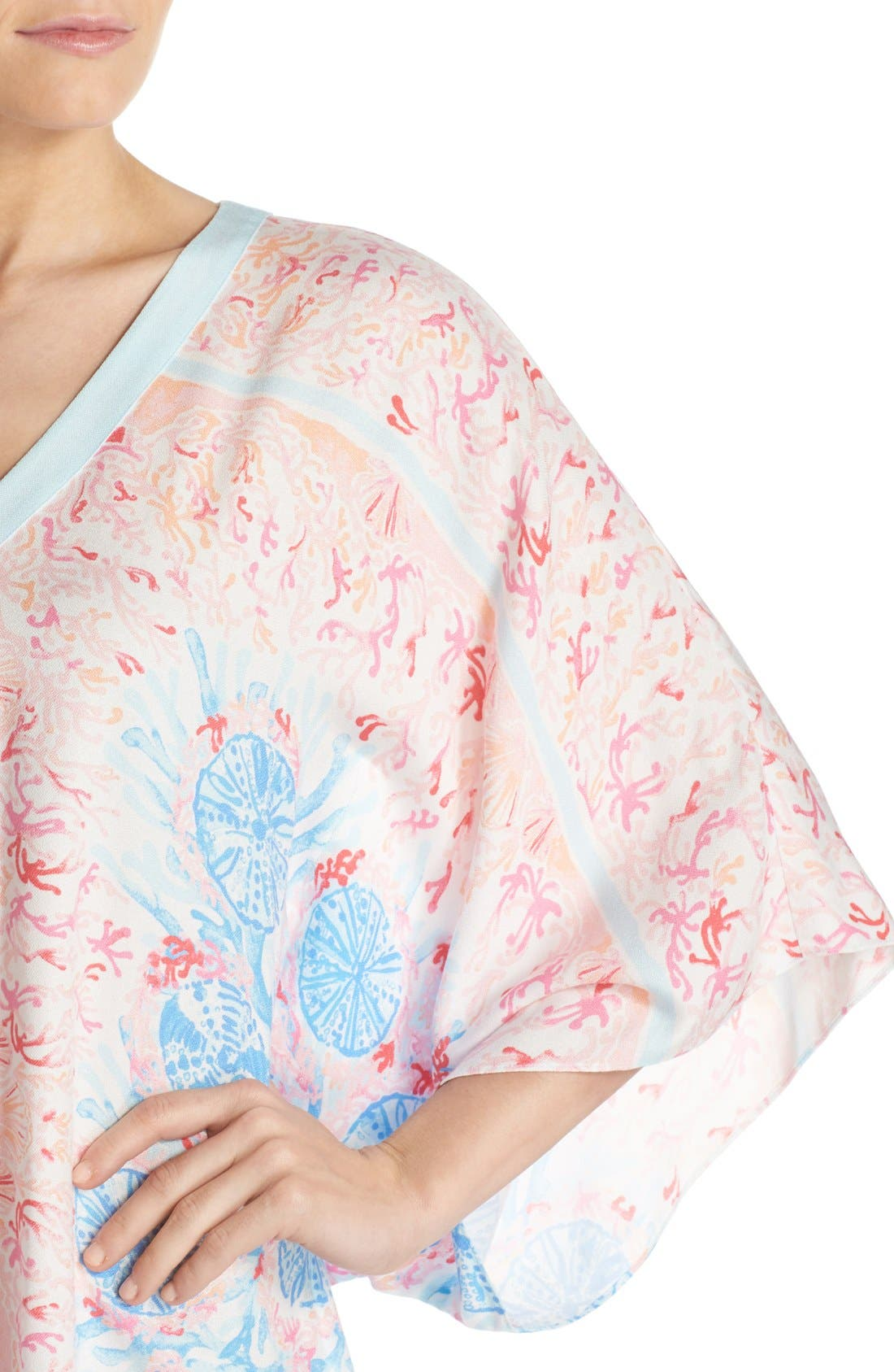 Alternate Image 5  - Lilly Pulitzer® Print Woven Caftan