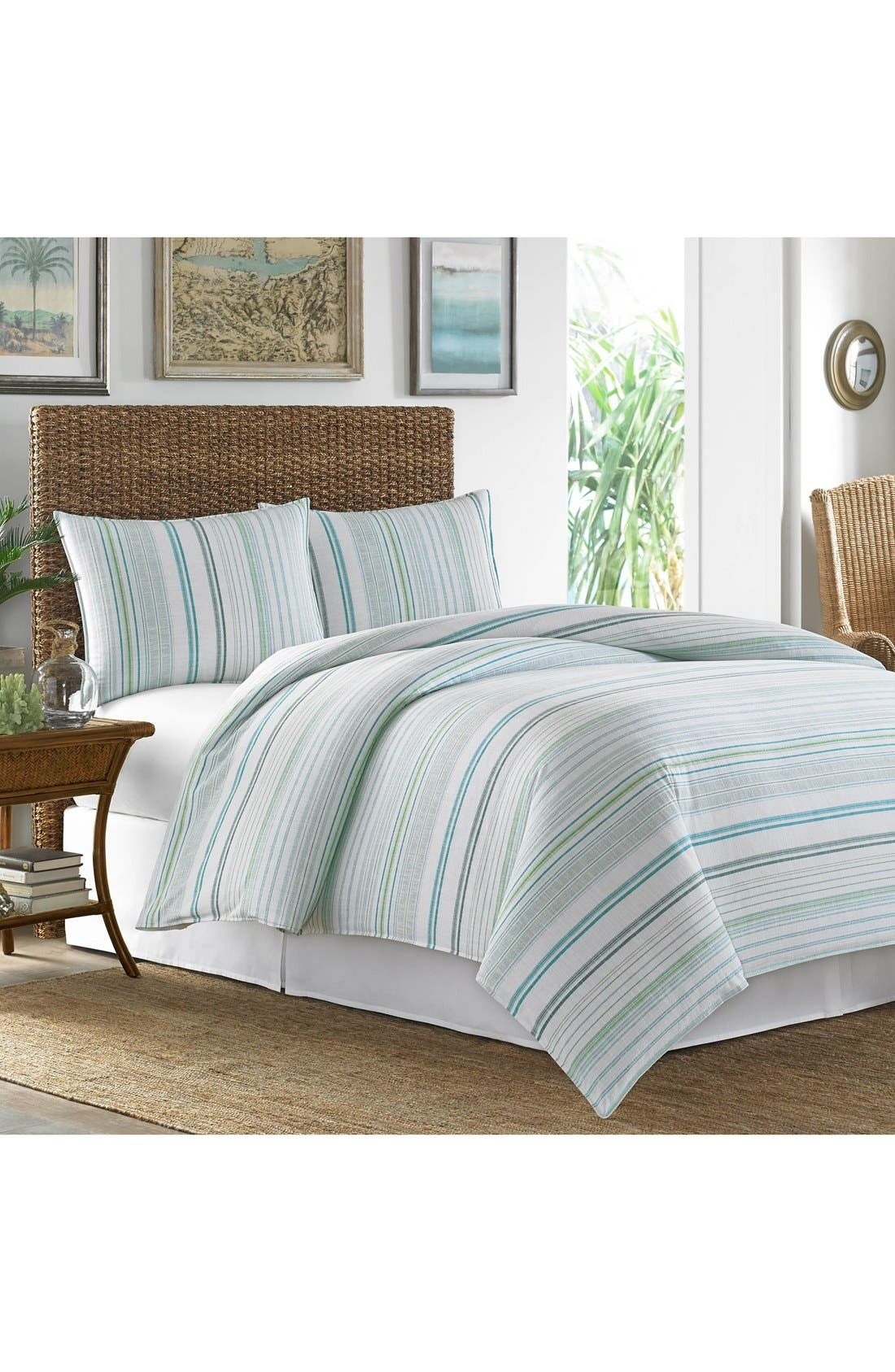 Main Image - Tommy Bahama La Scala Breezer Comforter, Sham & Bed Skirt Set