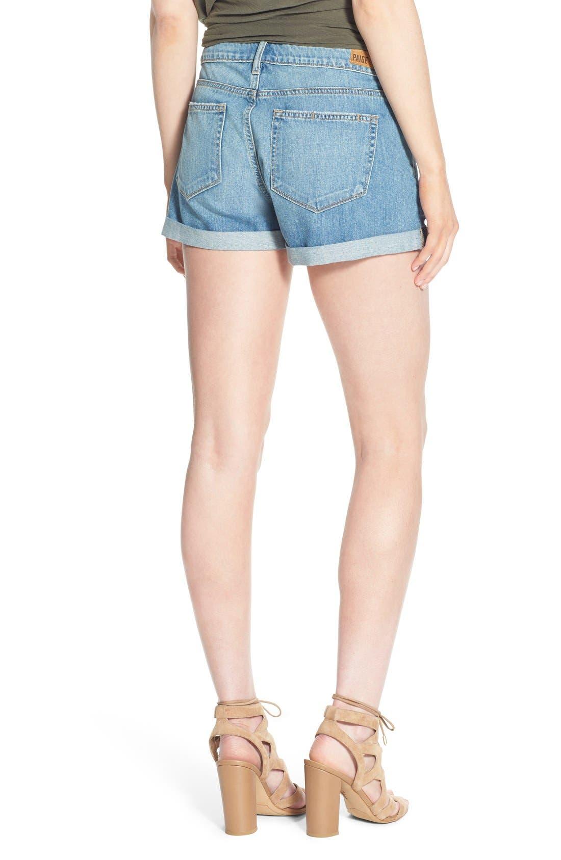 Alternate Image 2  - PAIGE 'Jimmy Jimmy' Denim Shorts (Annora)