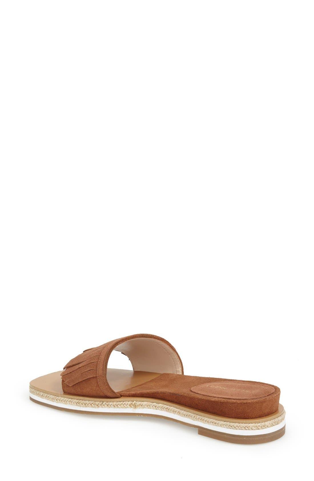 Alternate Image 2  - Pelle Moda 'Jade' Fringe Slide Sandal (Women)