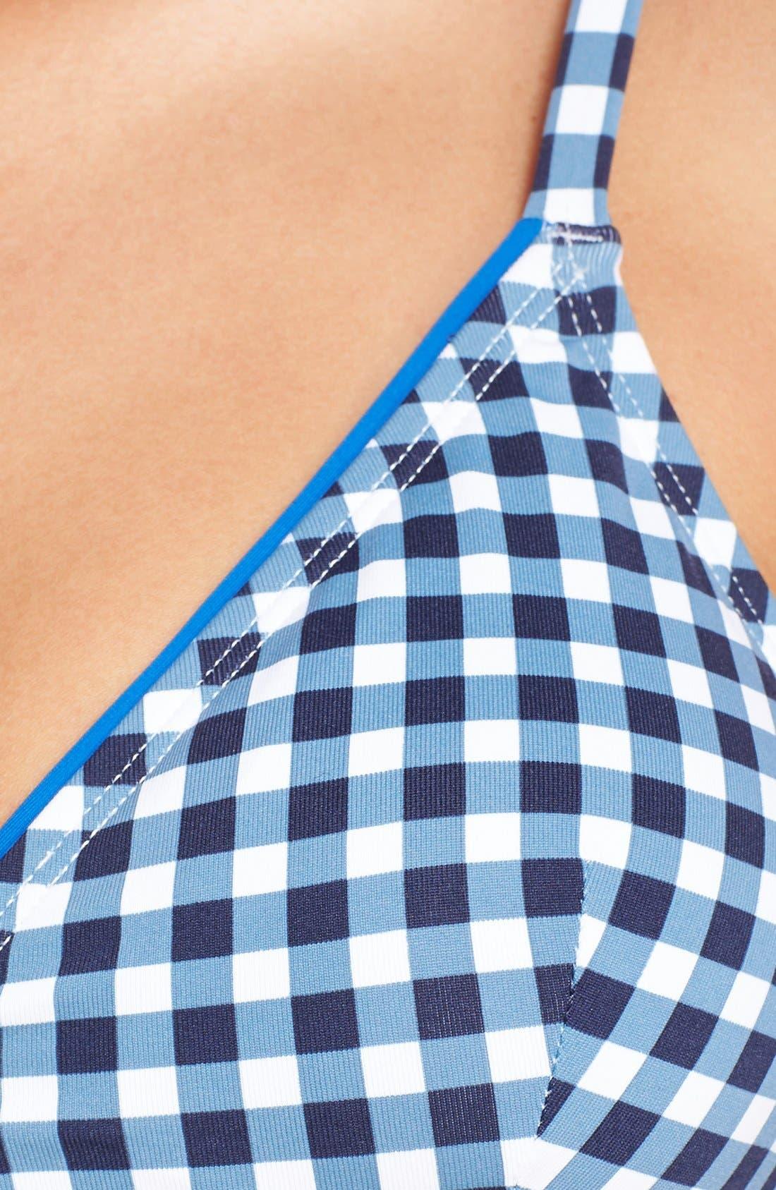 Alternate Image 6  - Tommy Bahama Gingham Bikini Top