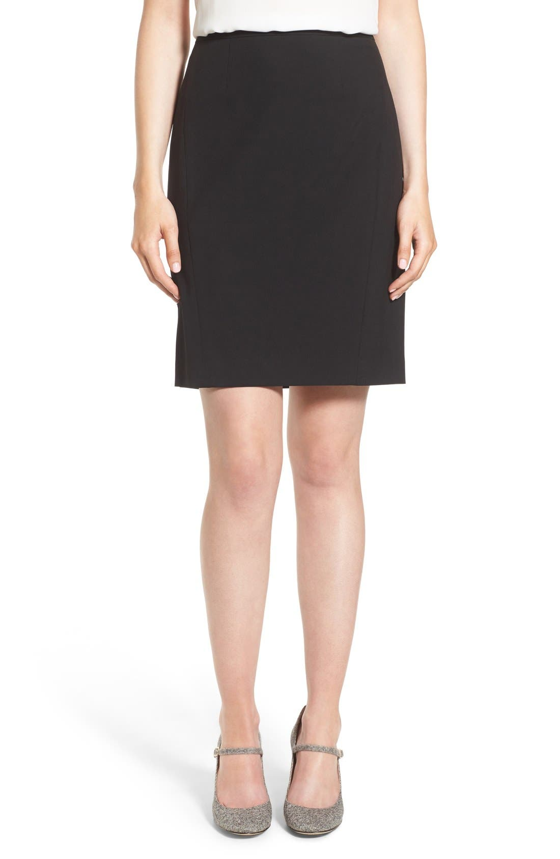 Alternate Image 1 Selected - Halogen® Ela Suit Skirt (Regular & Petite)