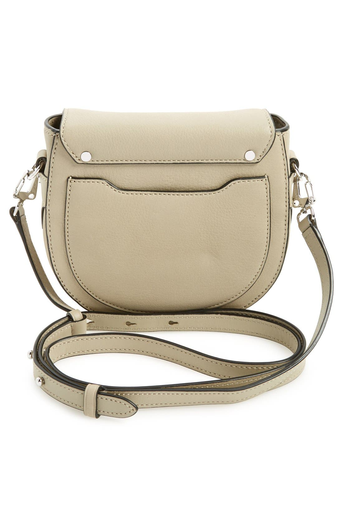 Alternate Image 3  - rag & bone 'Mini Flight' Leather Crossbody Saddle Bag