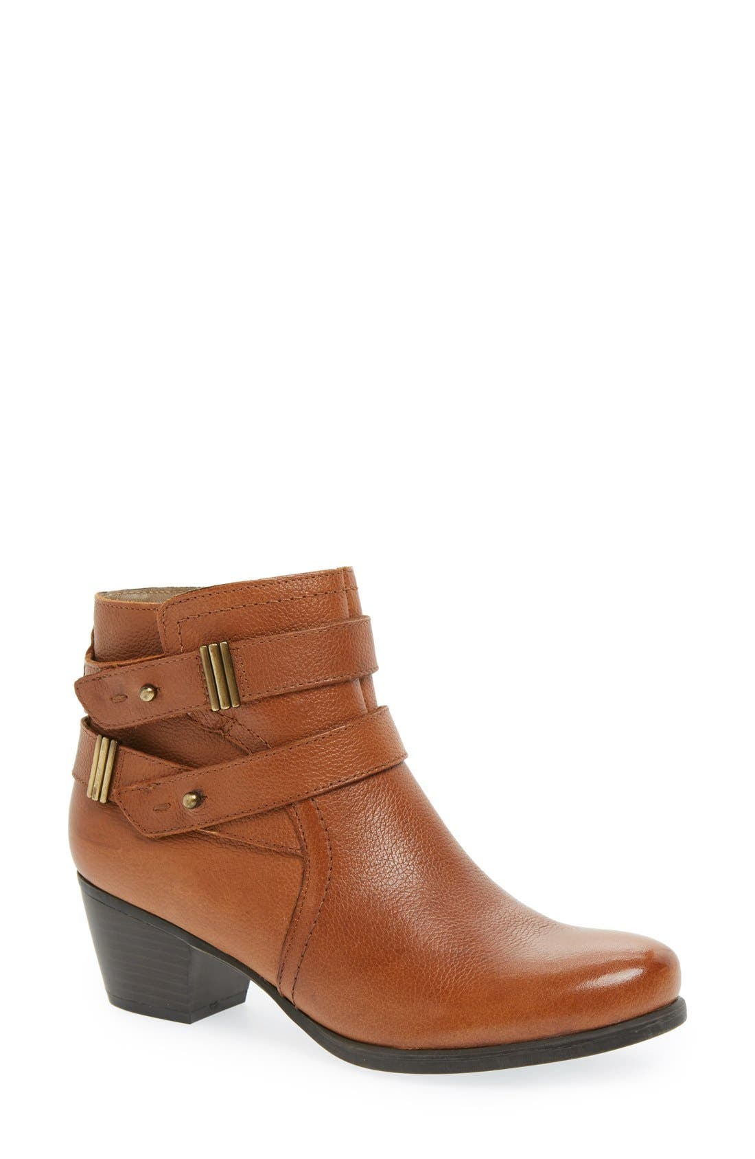 Alternate Image 1 Selected - Naturalizer 'Kepler' Block Heel Bootie (Women)