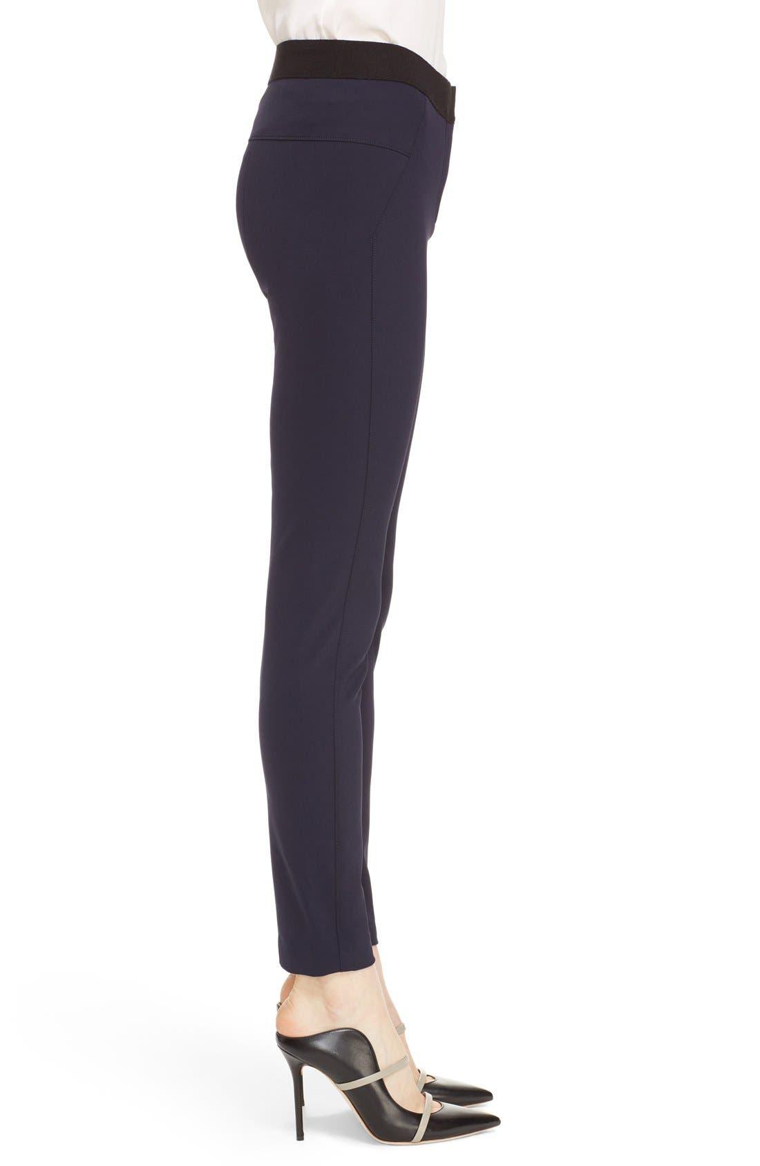 Alternate Image 3  - Veronica Beard Scuba Leggings