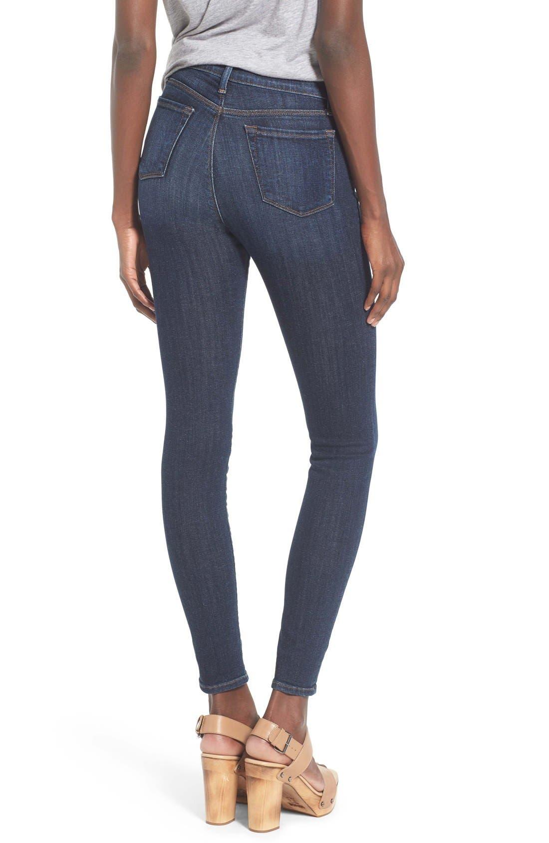 Alternate Image 2  - J Brand 'Maria' Skinny Jeans (Oblivion)