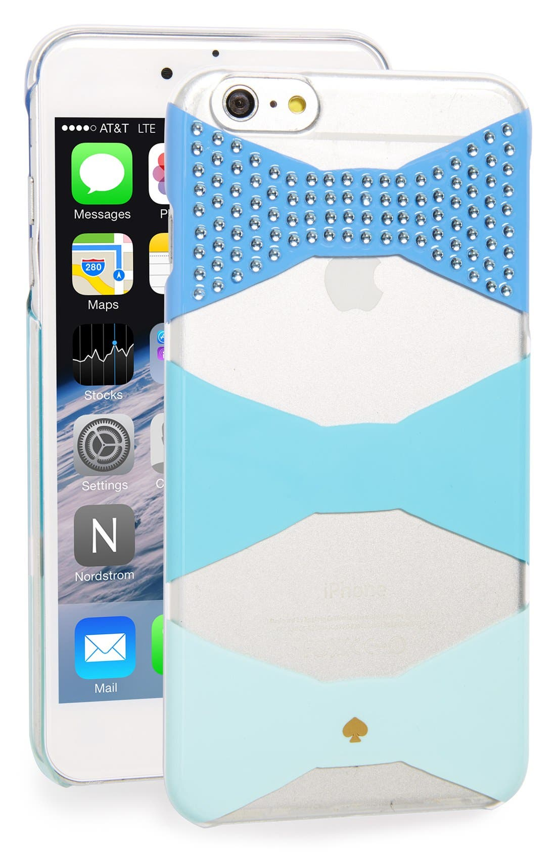 Main Image - kate spade new york 'jeweled bow' iPhone 6 Plus & 6s Plus case