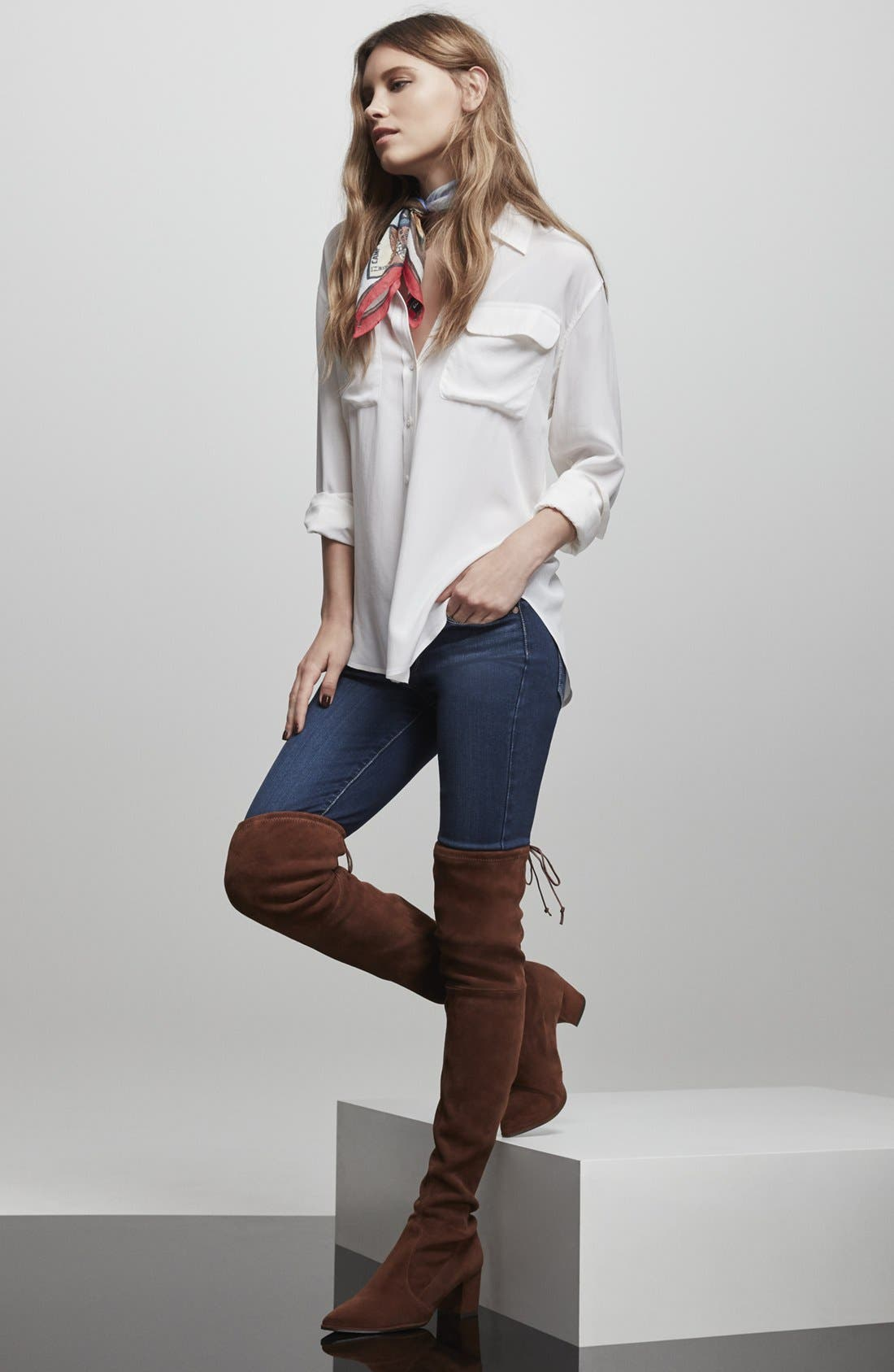 Thighland Over the Knee Boot,                             Alternate thumbnail 5, color,