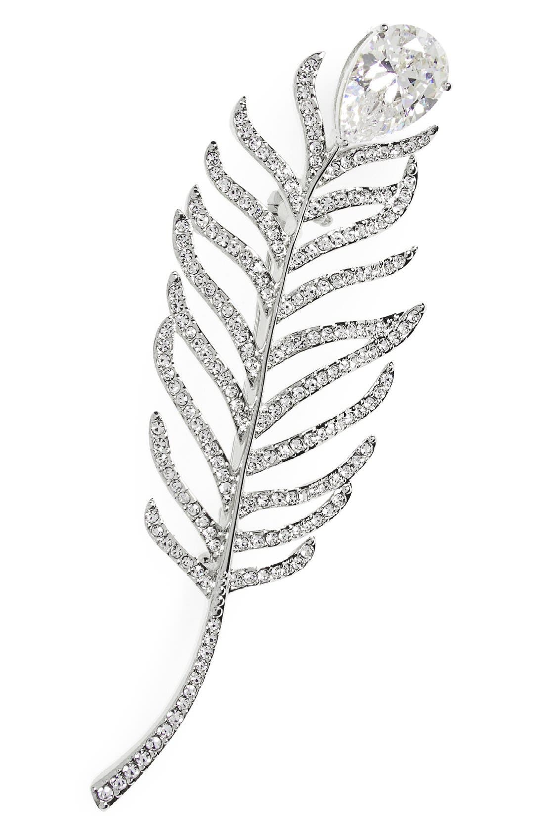 Alternate Image 1 Selected - Nadri Feather Pin