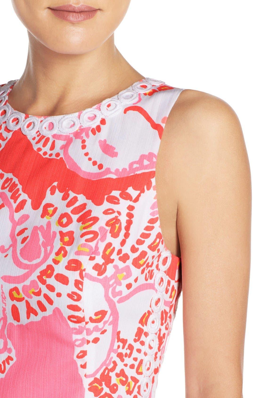 Alternate Image 5  - Lilly Pulitzer® 'Mila' Print Cotton Shift Dress