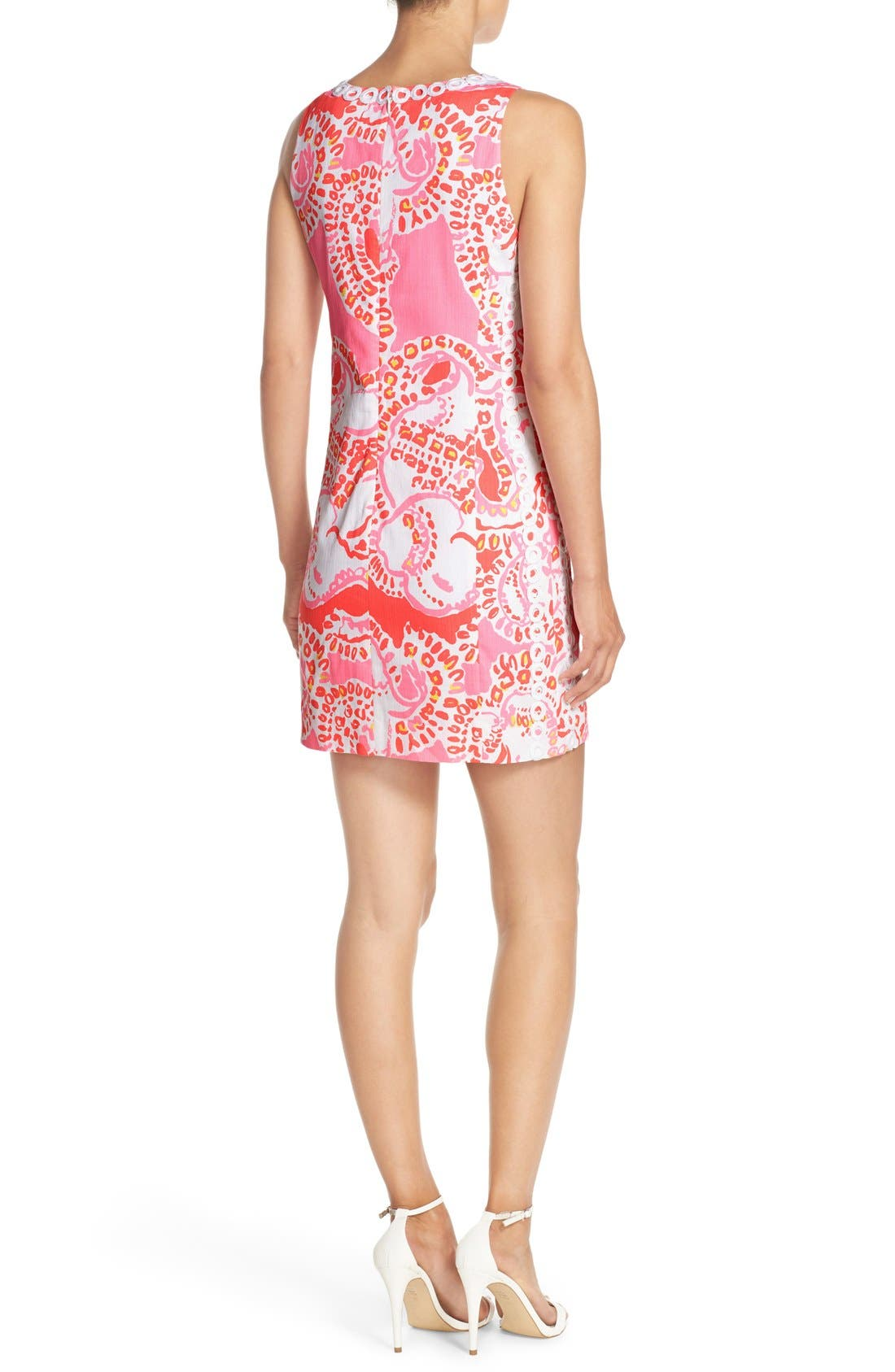 Alternate Image 2  - Lilly Pulitzer® 'Mila' Print Cotton Shift Dress