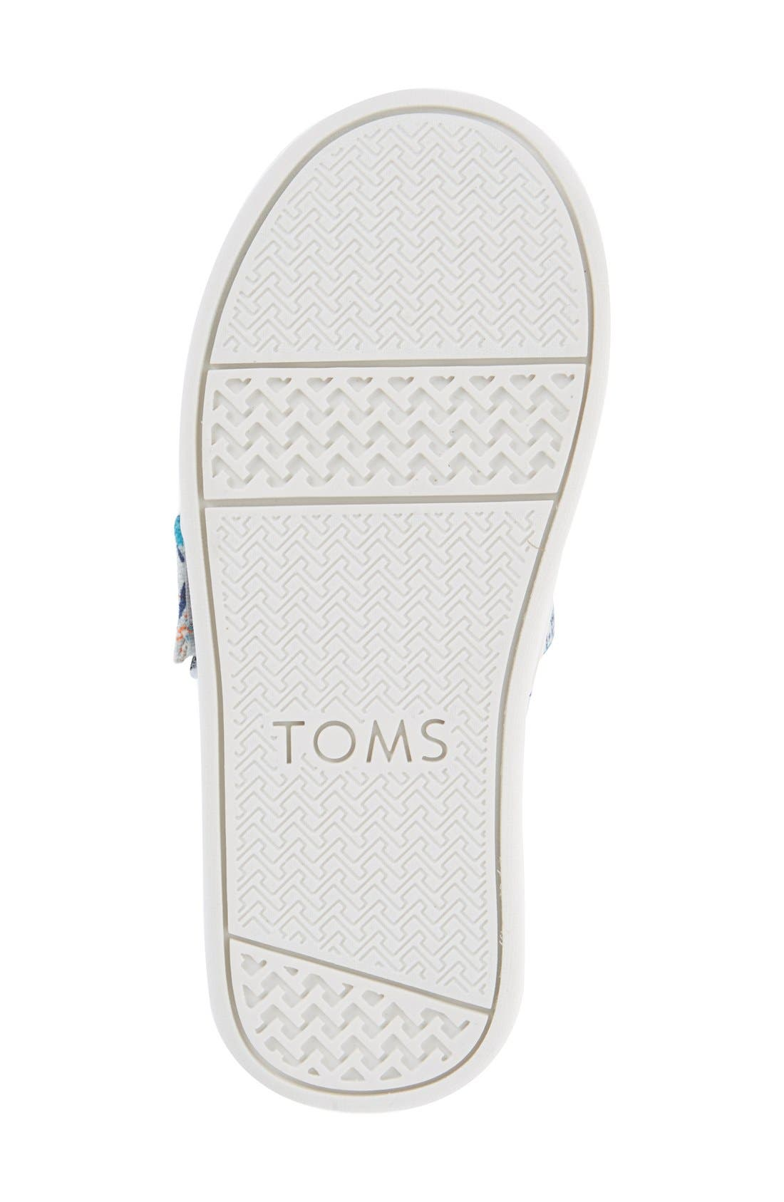 Alternate Image 4  - TOMS 'Classic - Bears' Slip-On (Baby, Walker & Toddler)