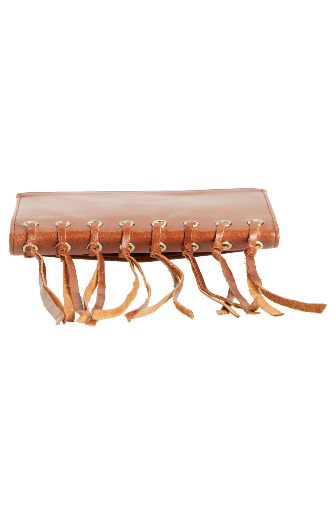 Alternate Image 7  - Hobo 'Maisy' Glazed Leather Fringe Crossbody Bag