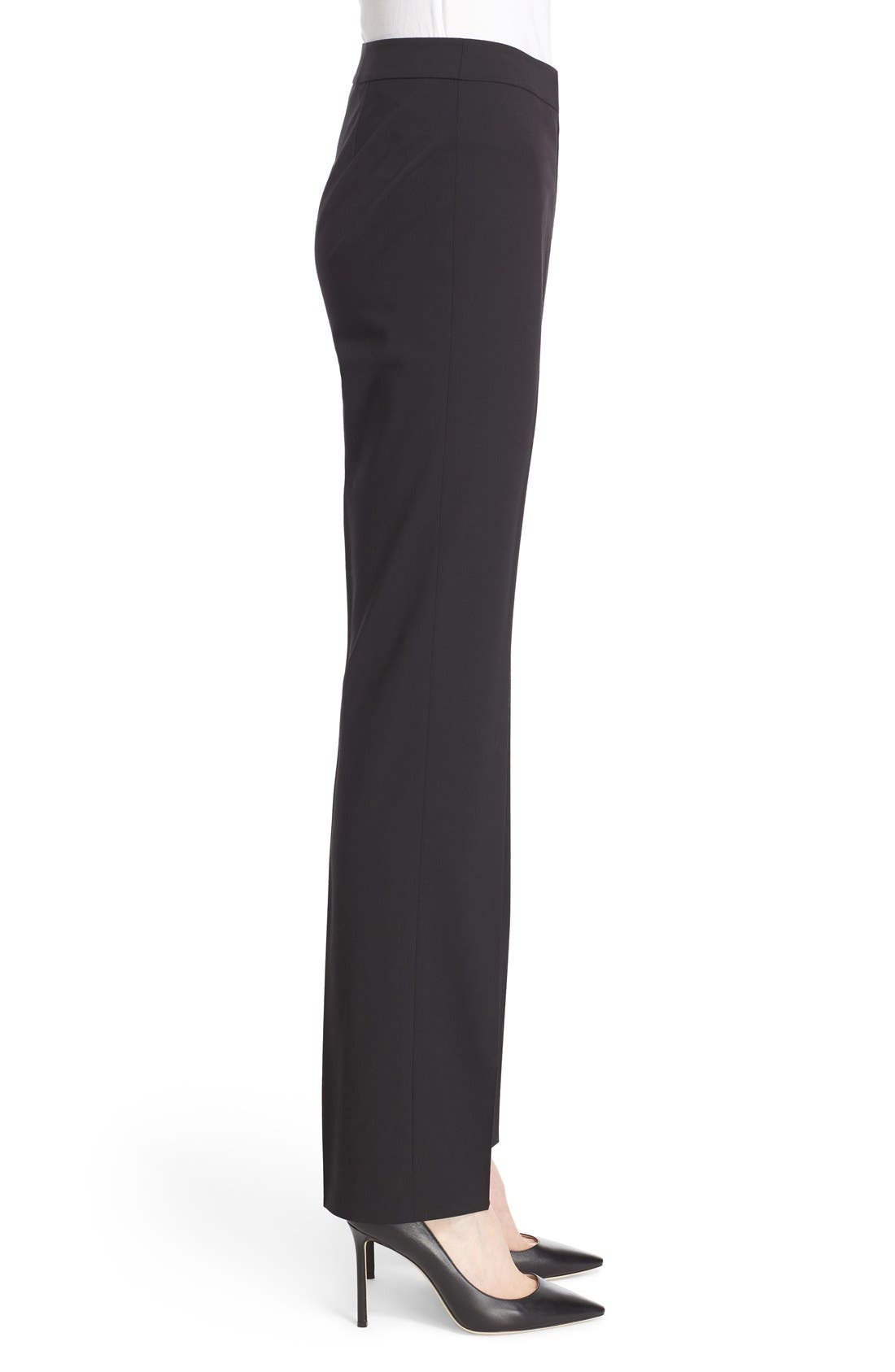 Alternate Image 5  - Lafayette 148 New York 'Barrow' Stretch Wool Pants