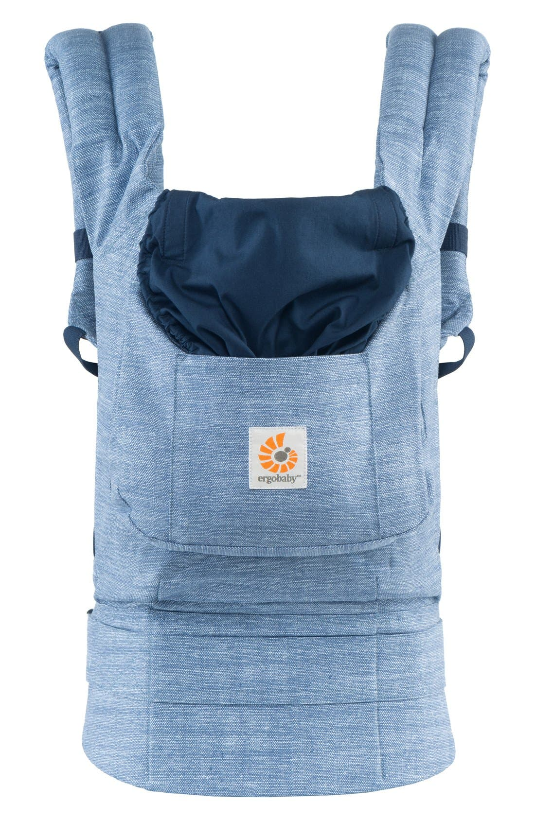 'Original' Cotton Baby Carrier,                             Main thumbnail 1, color,                             Vintage Blue