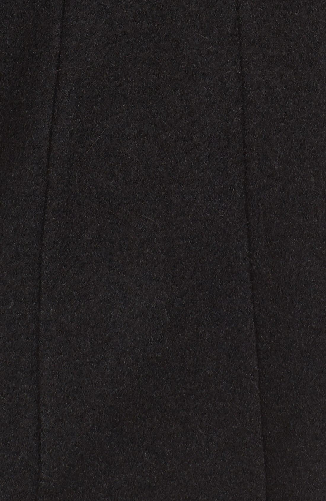 Alternate Image 5  - Cole Haan Signature Belted Scarf Front Coat