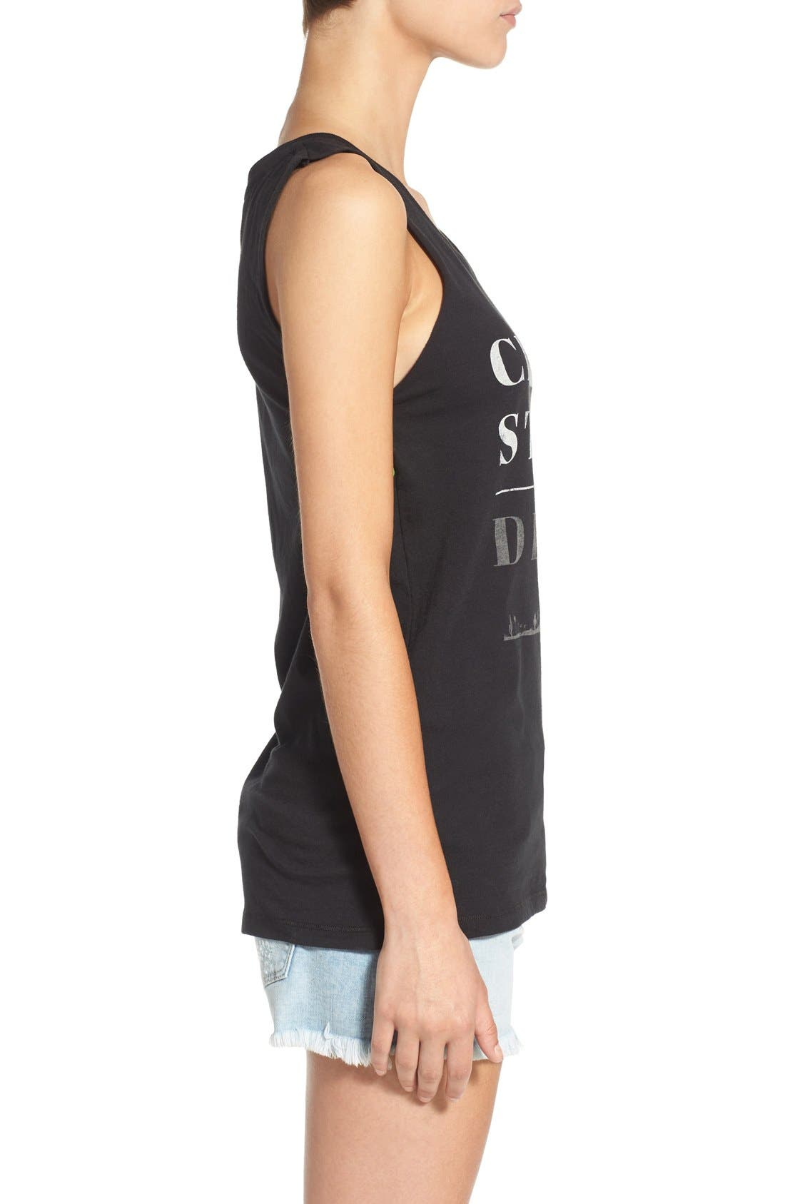 Alternate Image 3  - Element 'City Desert' Graphic Muscle Tank