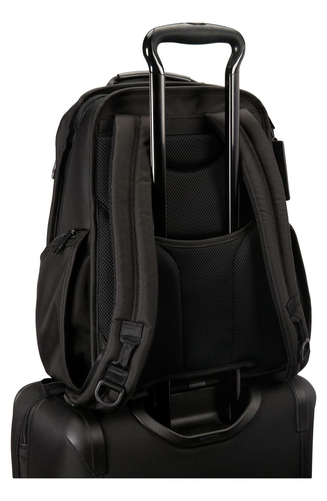 Alpha 2 Compact Laptop Brief Pack<sup>®</sup>,                             Alternate thumbnail 3, color,                             Black