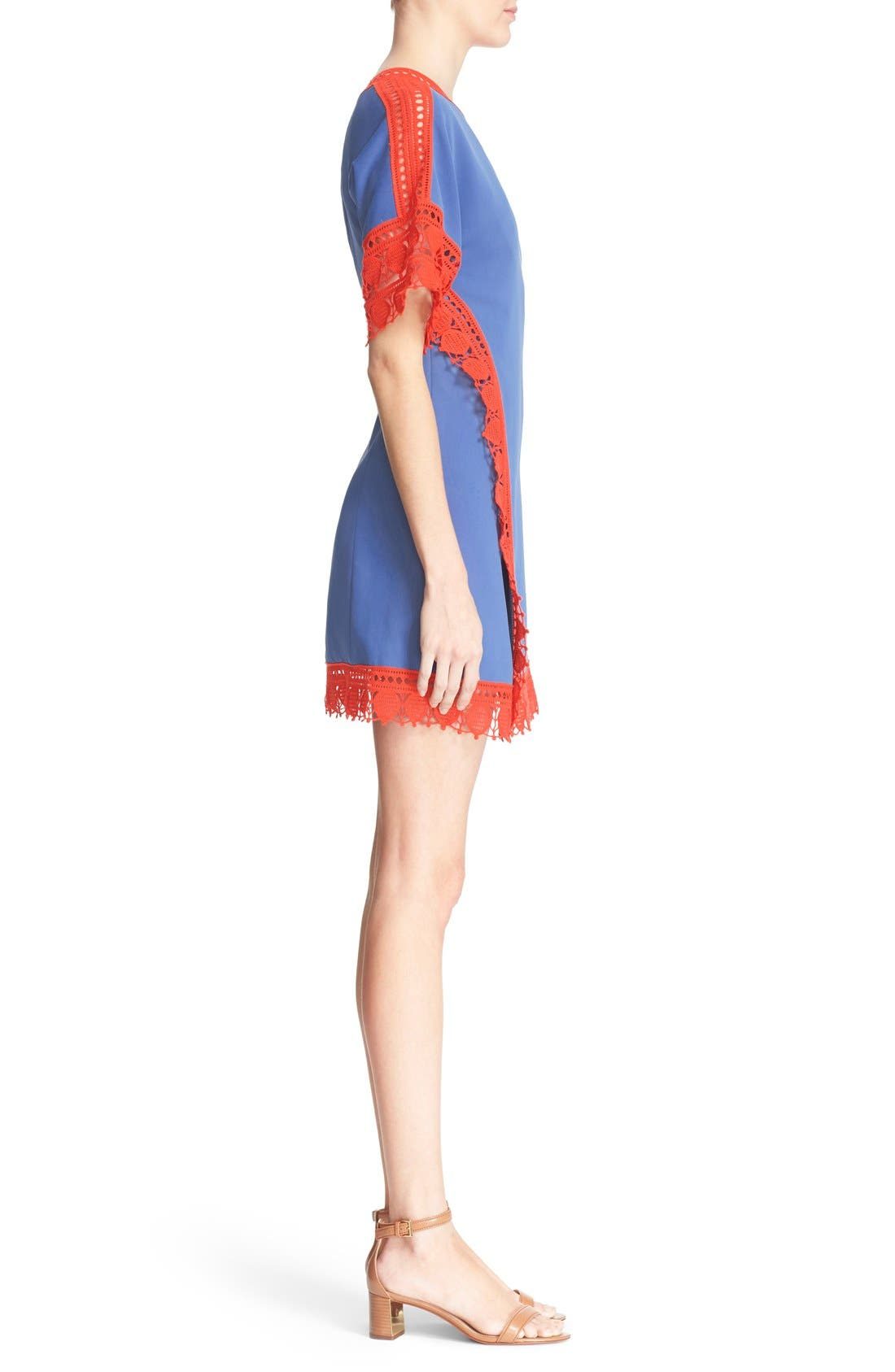 Alternate Image 3  - Tory Burch 'Marissa' Lace Trim Dress