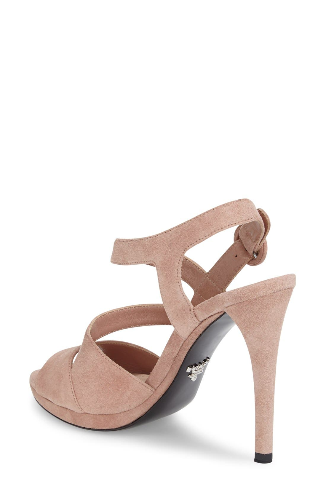 Alternate Image 2  - Prada Strappy Sandal (Women)