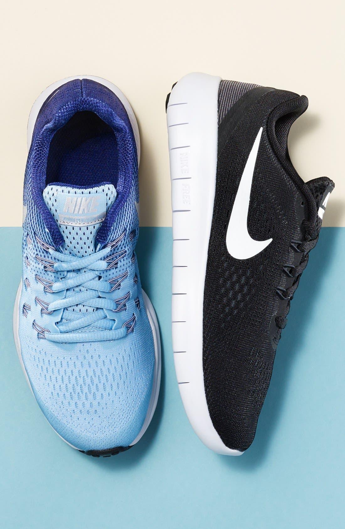Alternate Image 7  - Nike 'Zoom Pegasus 33' Sneaker (Little Kid & Big Kid)