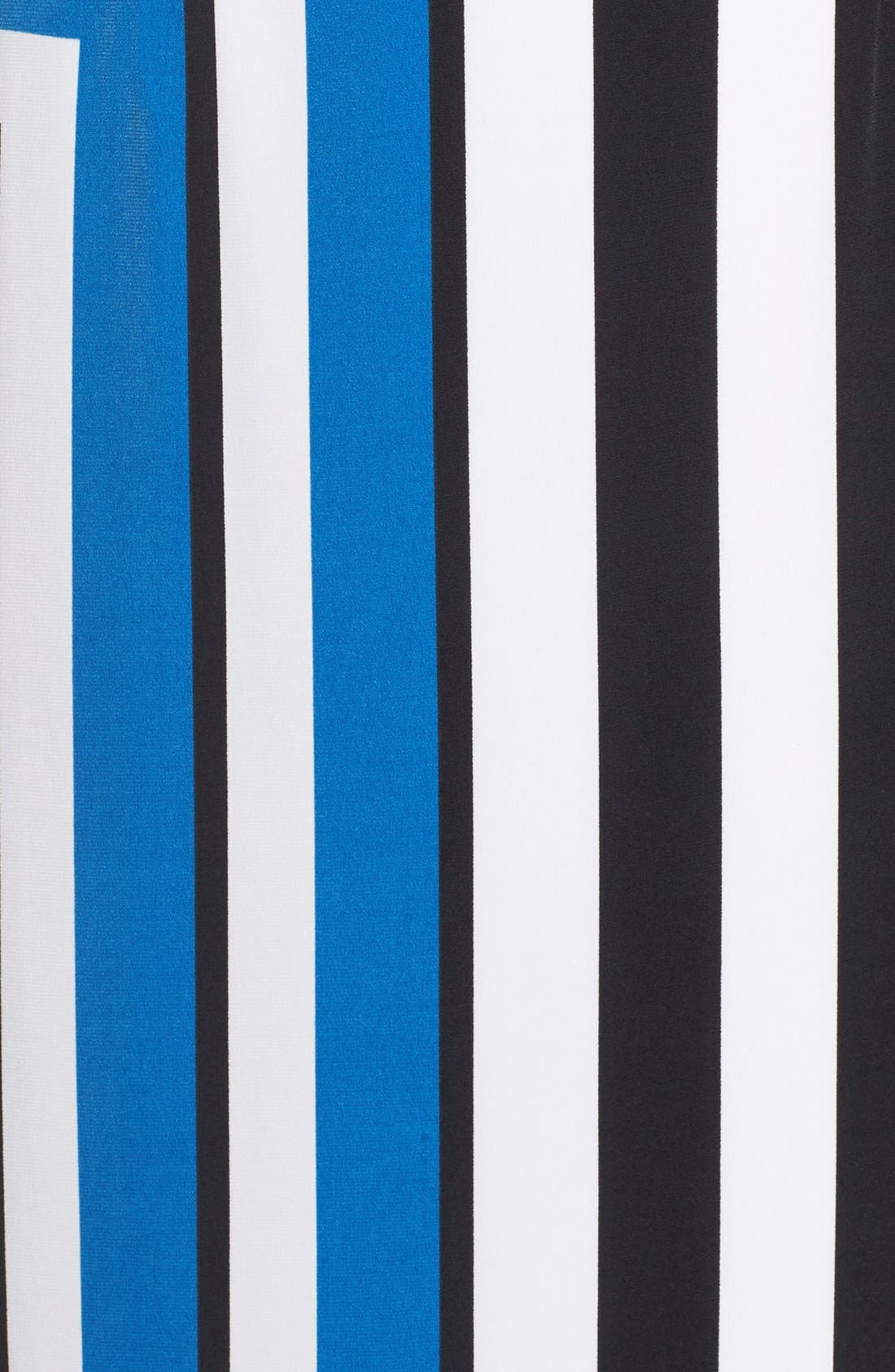 Alternate Image 5  - Maggy London Stripe Jersey Midi Dress