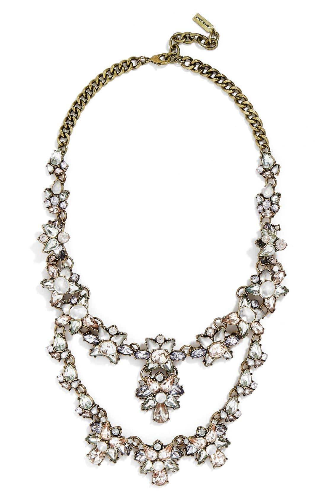 Main Image - BaubleBar 'Emma' Bib Necklace