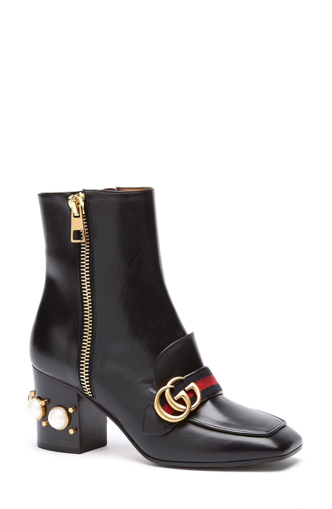 Alternate Image 1 Selected - Gucci 'Peyton' Bootie (Women)