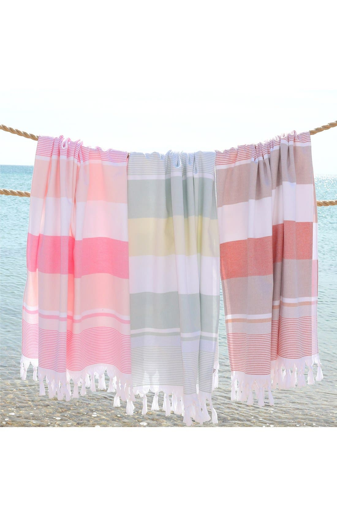 Alternate Image 9  - Linum Home Textiles 'Summer Loving' Turkish Pestemal Towel