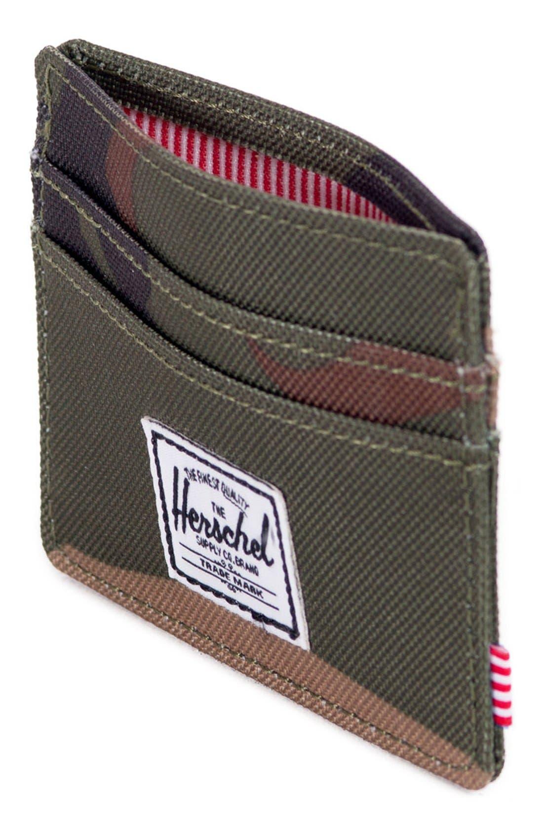 Alternate Image 2  - Herschel Supply Co. 'Charlie' Card Case