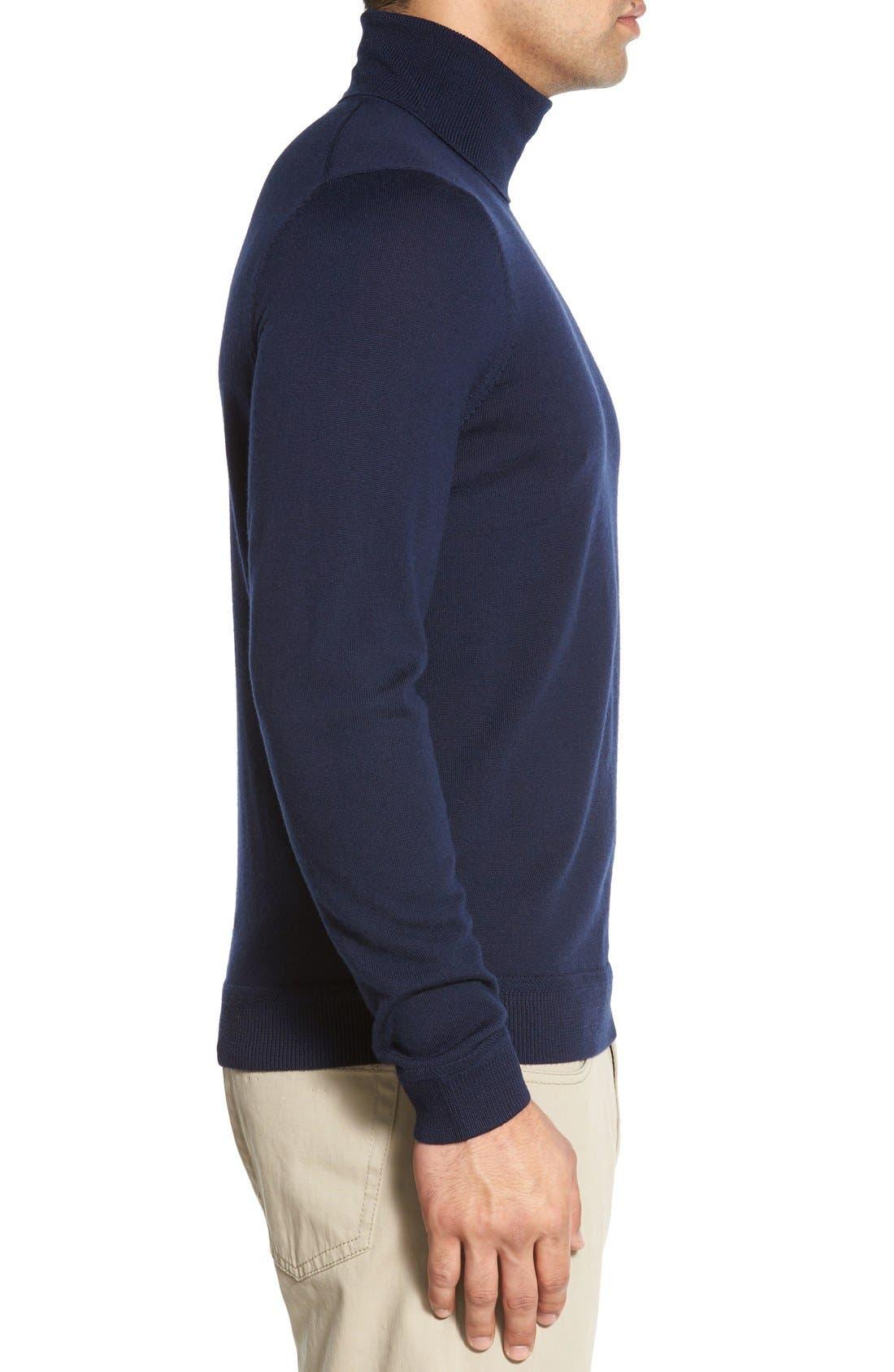 Alternate Image 3  - John W. Nordstrom® Wool Turtleneck Sweater