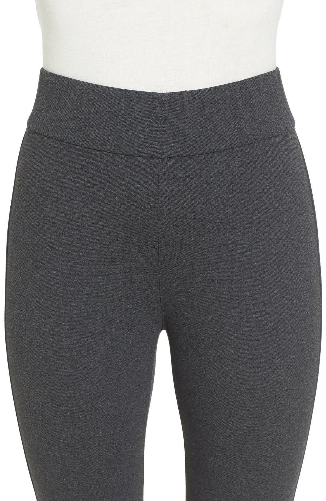 Alternate Image 4  - Eileen Fisher Ponte Knit Leggings (Regular & Petite)