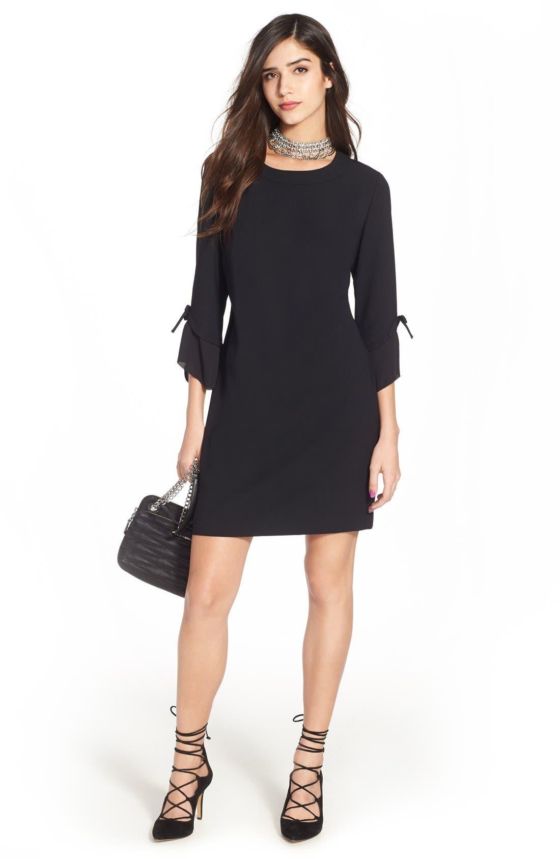 Alternate Image 2  - Chelsea28 Ruffle Sleeve Sheath Dress
