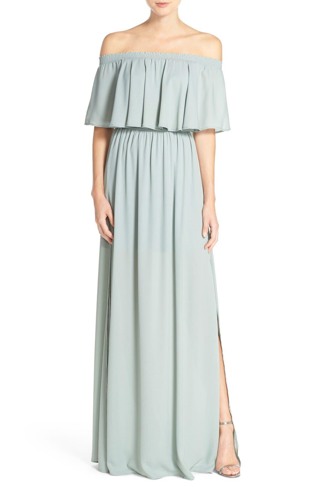 Show Me Your Mumu Hacienda Convertible Gown