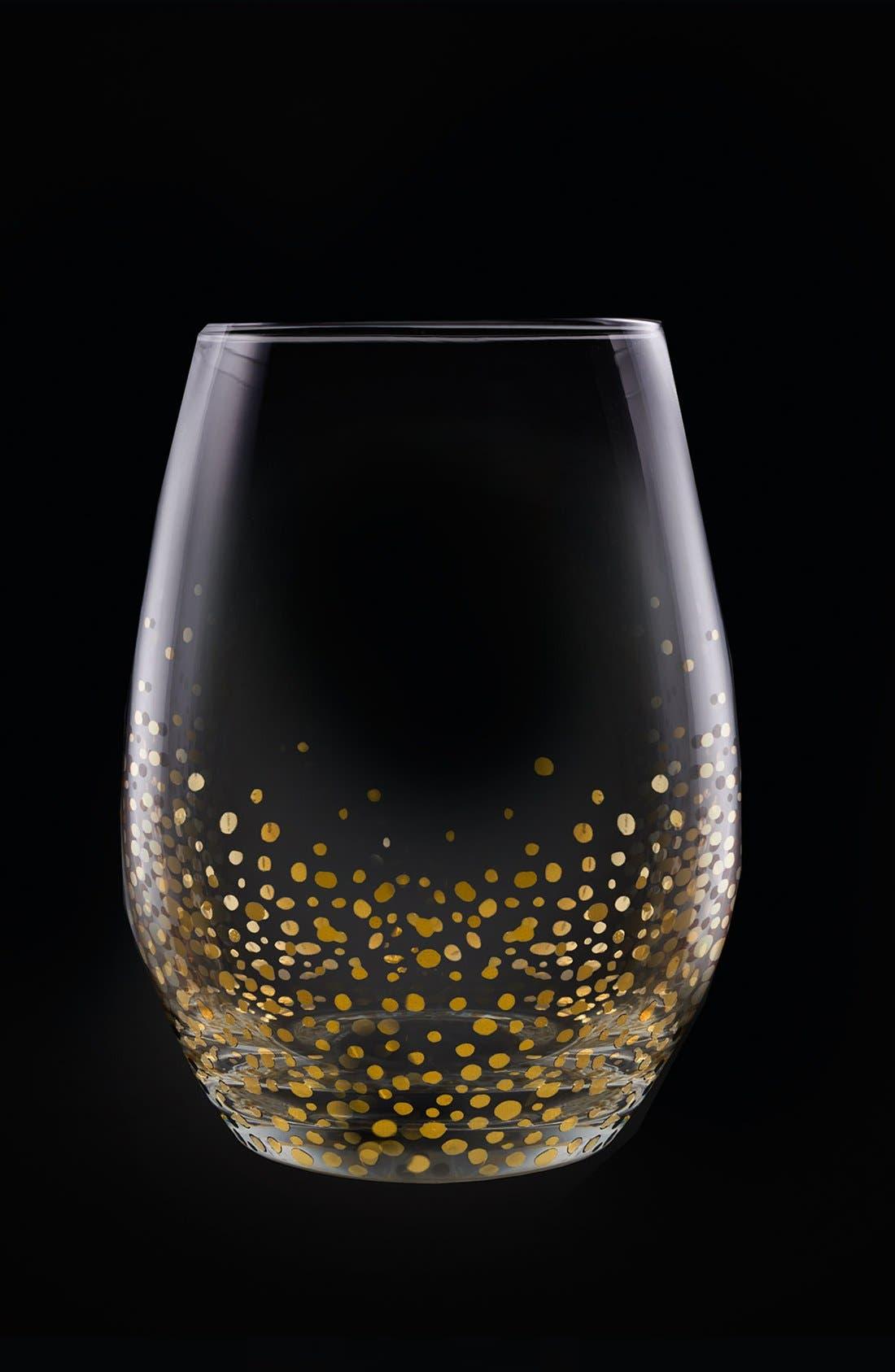 Alternate Image 2  - American Atelier Daphne Set of 4 Stemless Wine Glasses