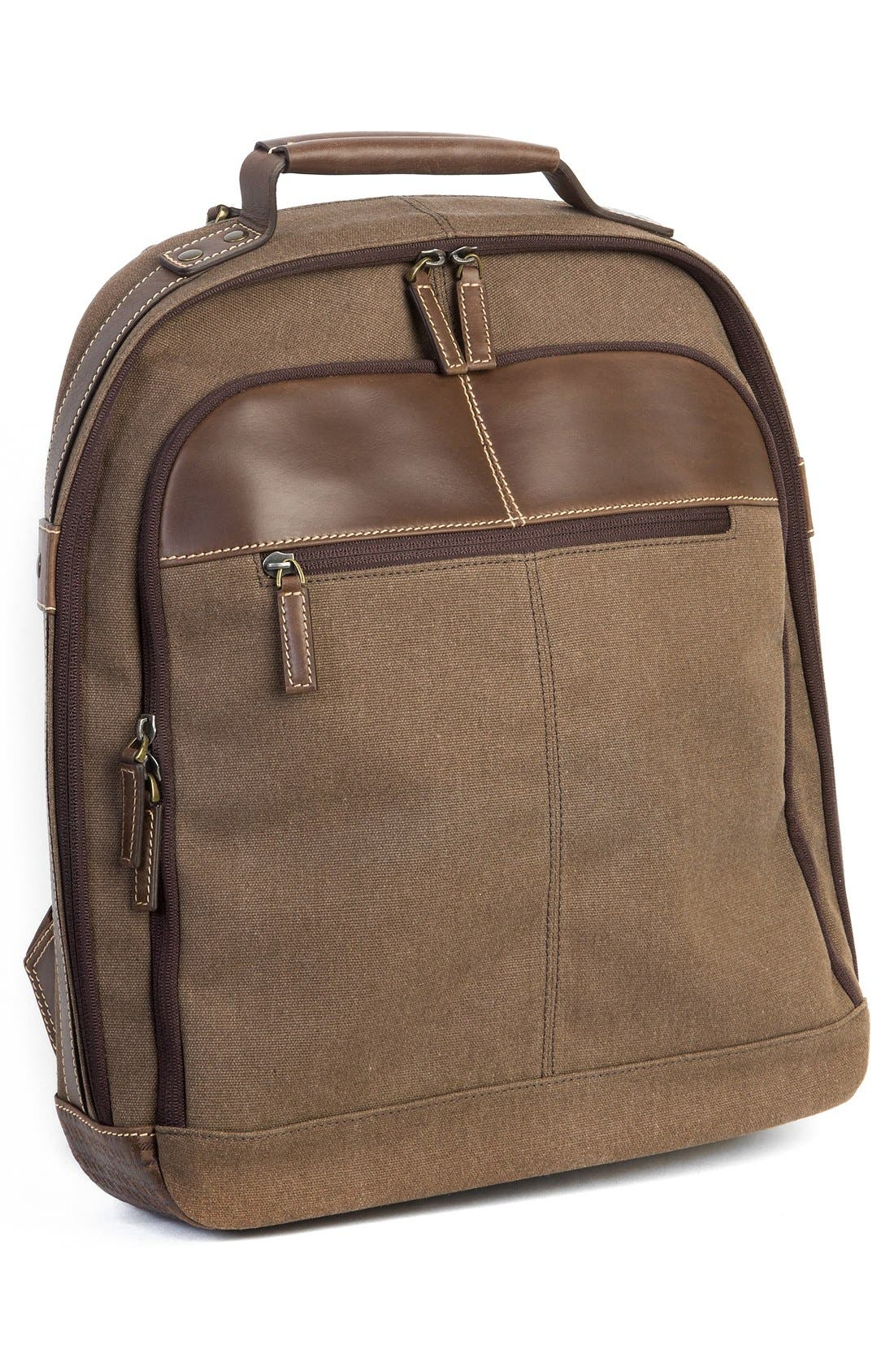 'Bryant LTE' Backpack,                             Alternate thumbnail 5, color,                             Heather Brown