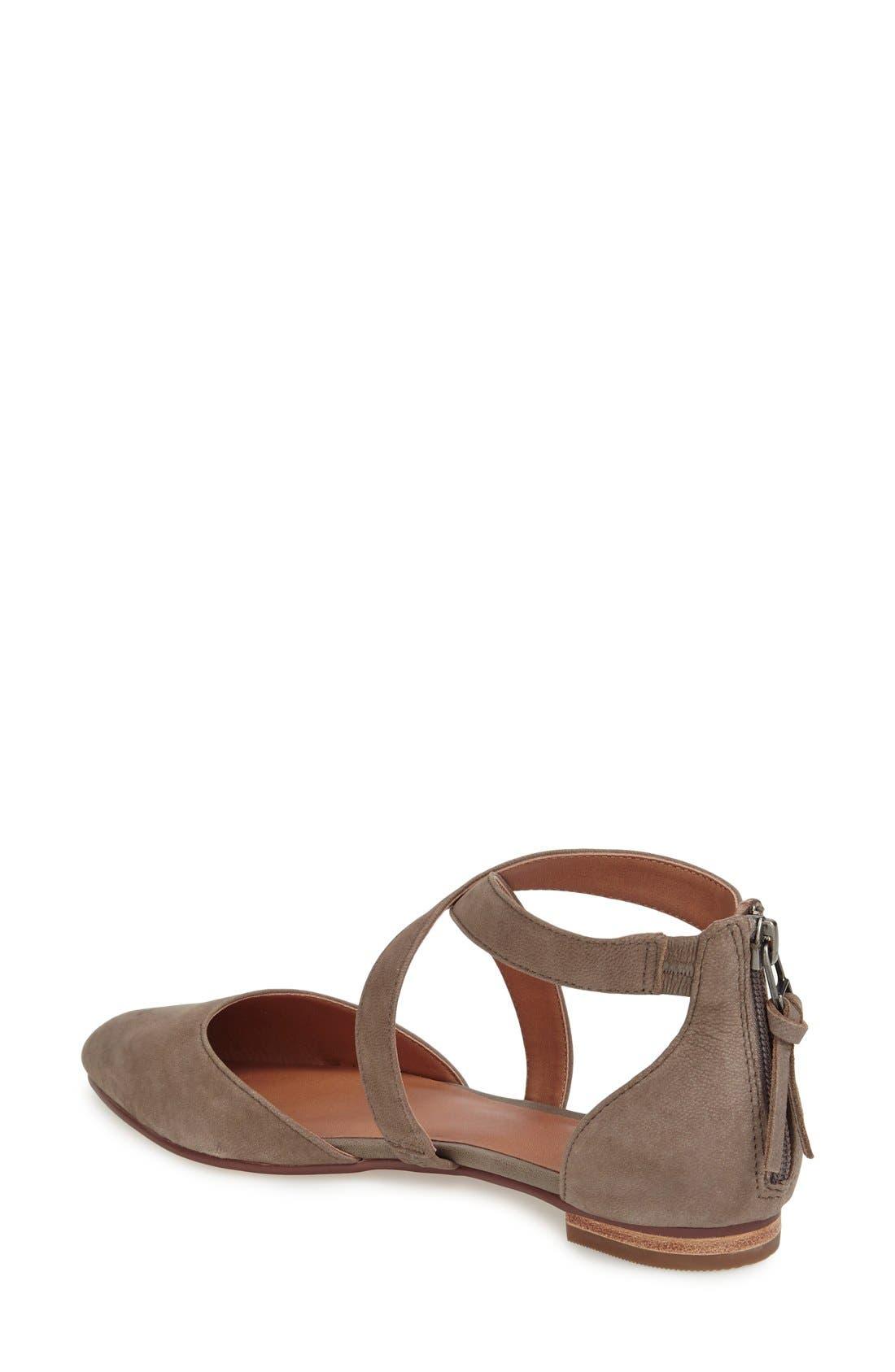 Alternate Image 2  - Caslon® 'Aubry' Pointy Toe Flat (Women)