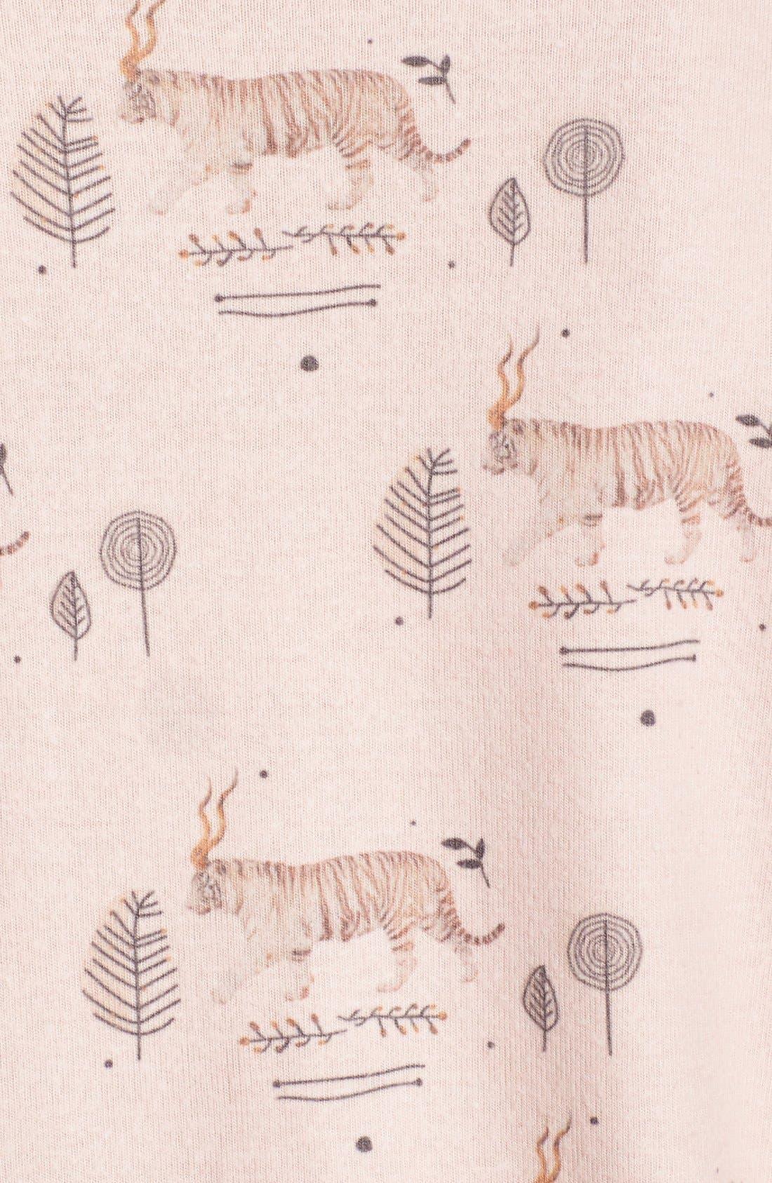 Alternate Image 5  - All Things Fabulous Tiger Print Sweatshirt