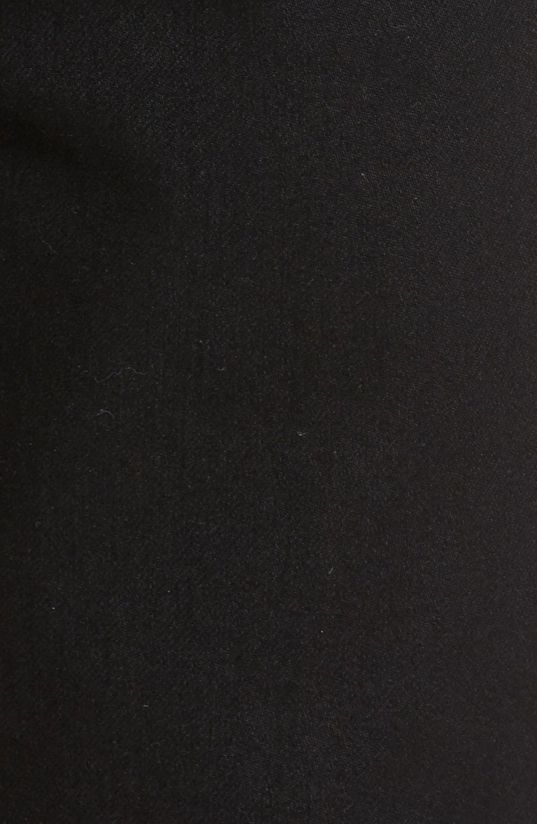 Slimmy Slim Fit Jeans,                             Alternate thumbnail 5, color,                             Towne Black