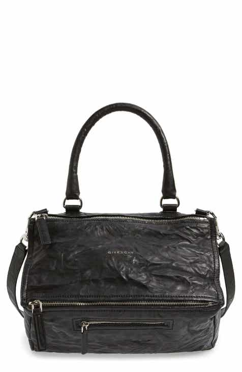 Givenchy  Medium Pepe Pandora  Leather Satchel 1ca15d7975d97