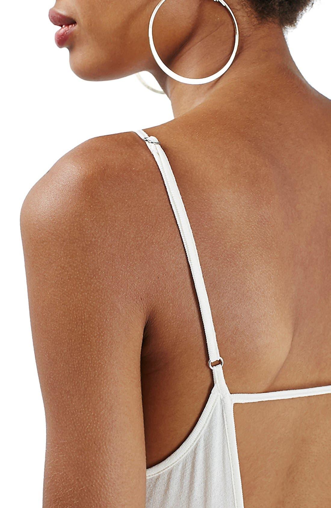 Alternate Image 5  - Topshop Tiered Open Back Sundress