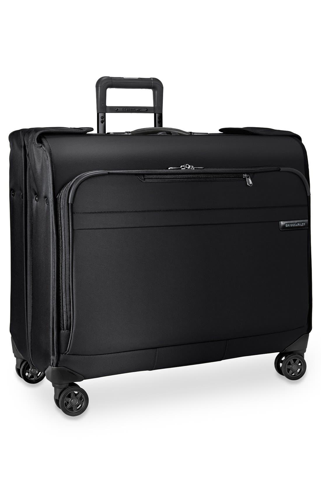 'Baseline' Wheeled Garment Bag,                             Alternate thumbnail 2, color,                             Black