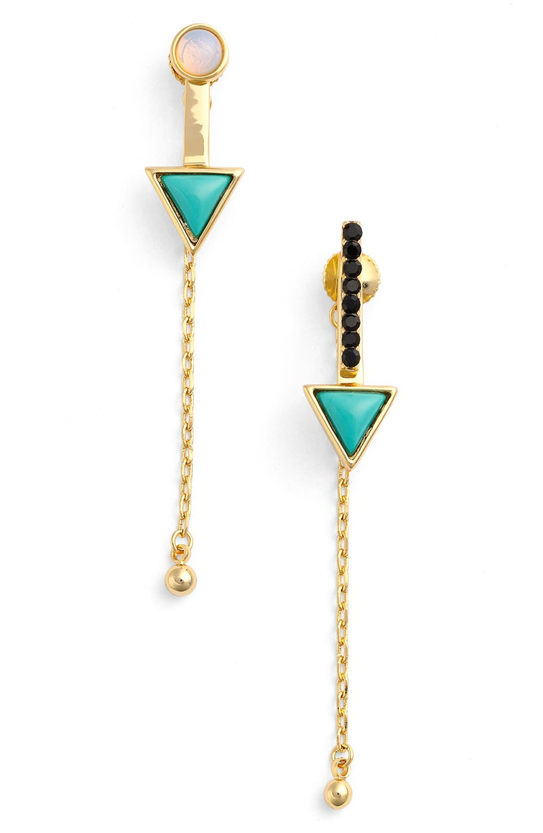 Alternate Image 1 Selected - Jules Smith Chain Drop Earrings