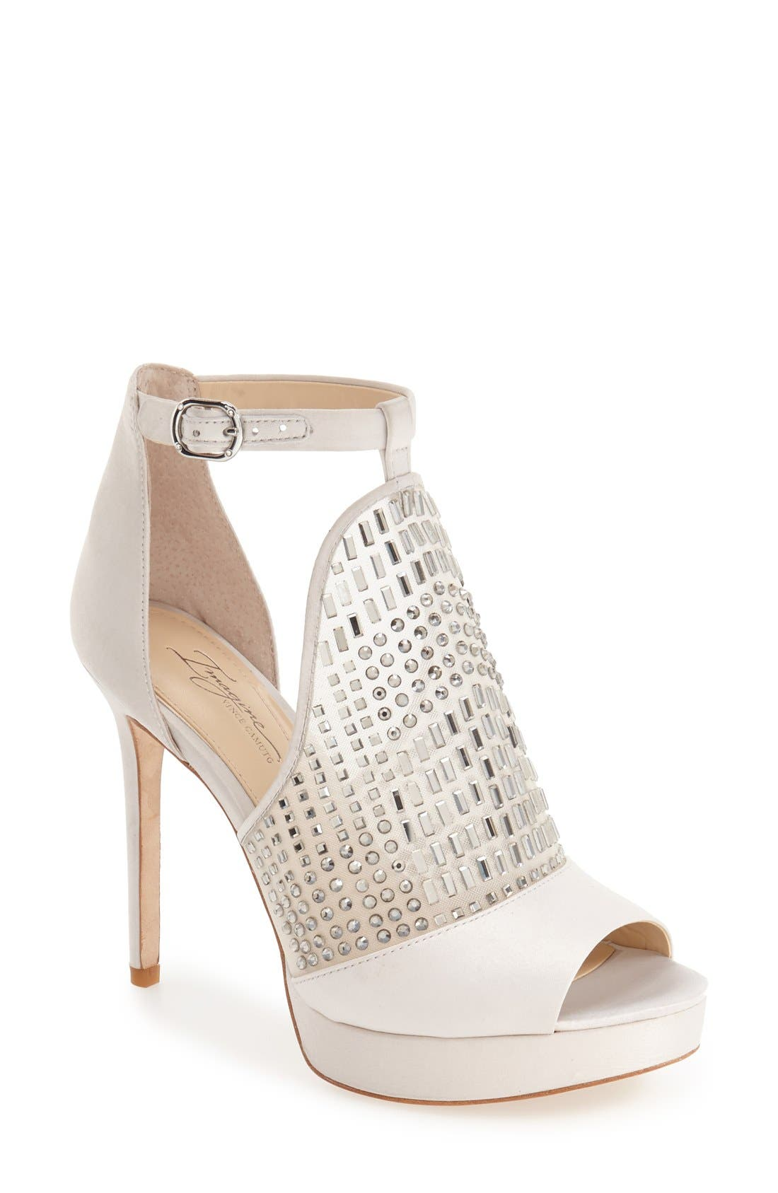 Alternate Image 1 Selected - Imagine by Vince Camuto 'Keir' T-Strap Platform Sandal (Women)