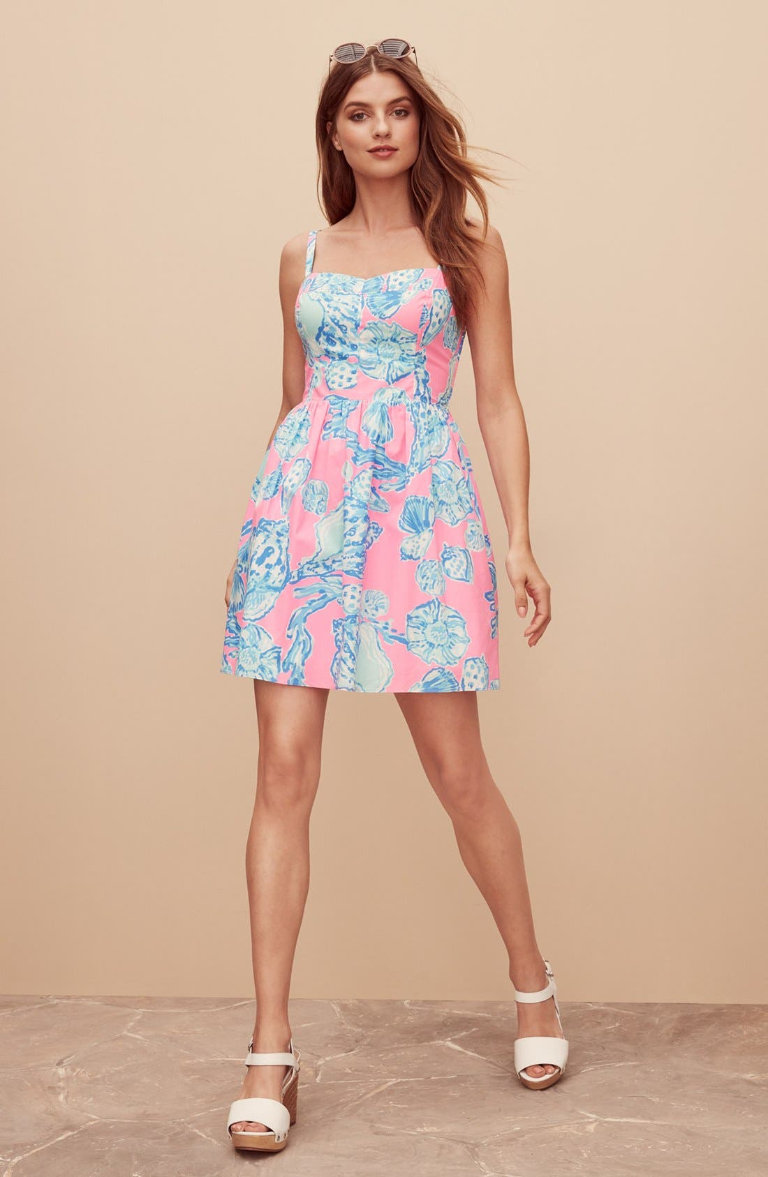 Alternate Image 7  - Lilly Pulitzer® 'Ardleigh' Print Cotton Fit & Flare Dress
