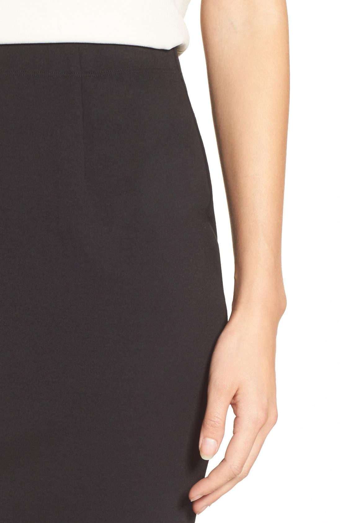 Alternate Image 4  - Eileen Fisher Stretch Ponte Pencil Skirt