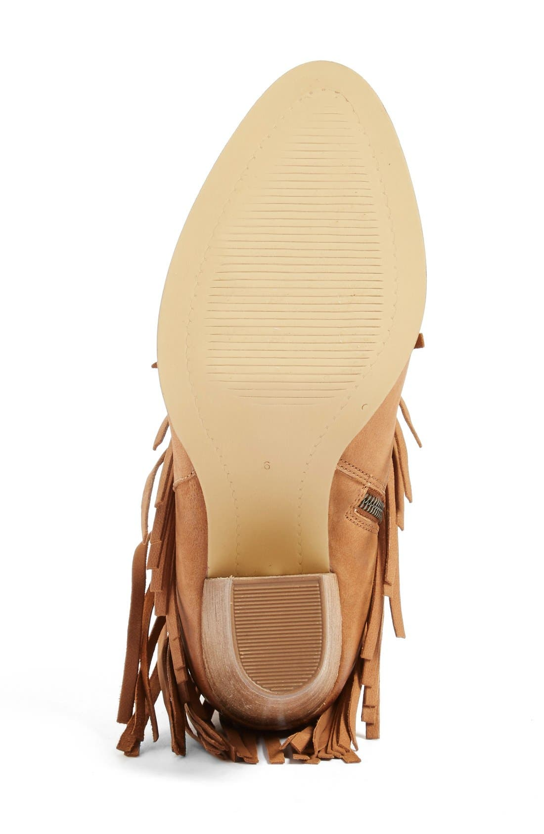 Alternate Image 4  - Seychelles 'World Tour' Fringe Bootie (Women)