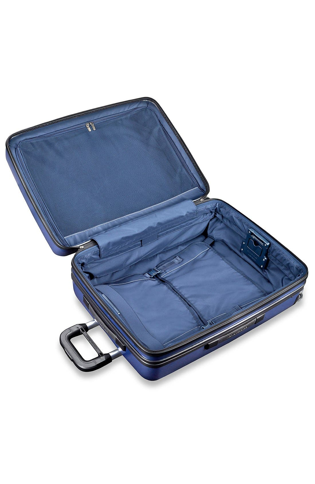 'Sympatico' Expandable Wheeled Packing Case,                             Alternate thumbnail 4, color,                             Marine Blue